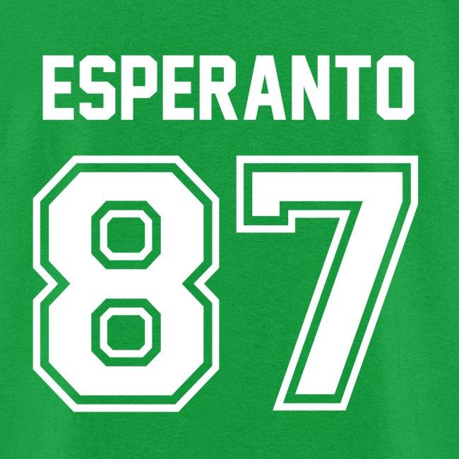Esperanto Jersey (Masculine)