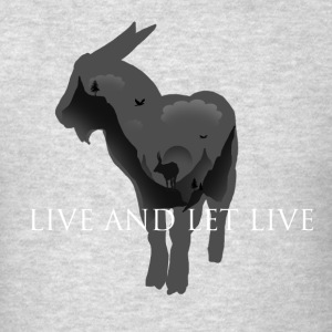 Live and let live - Men's T-Shirt