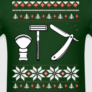 Wet Shaving Holiday Tee - Men's T-Shirt