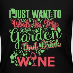 Gardening And Wine - Women's Long Sleeve Jersey T-Shirt