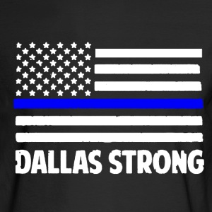 Dallas Strong Shirt - Men's Long Sleeve T-Shirt