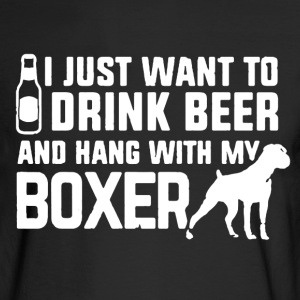 Boxer Shirt - Men's Long Sleeve T-Shirt