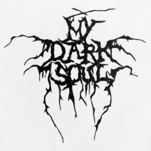 My Dark Soul logo pin - Large Buttons