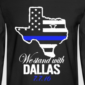 Dallas Shirt - Men's Long Sleeve T-Shirt