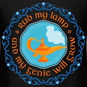 rub_my_lamp_and_my_genie_will_grow_07201 T-Shirts - Men's T-Shirt