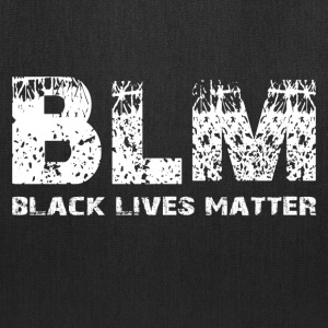 BLM Black Lives Matter W Bags & backpacks - Tote Bag