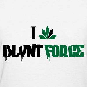 I Love Blvnt Force - Women's T-Shirt