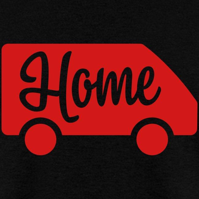 Home in a van