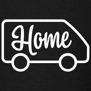 Home in a van - Autonaut.com - Men's T-Shirt