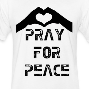 Pray for Peace 3.gif T-Shirts - Fitted Cotton/Poly T-Shirt by Next Level
