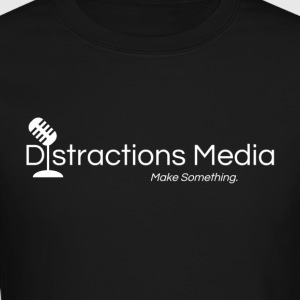 Distractions Media Sweatshirt - Crewneck Sweatshirt