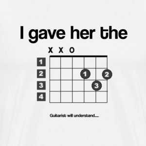 Guitarist's Joke - Men's Premium T-Shirt
