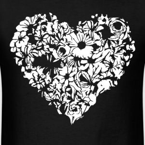 beauty heart T-Shirts - Men's T-Shirt