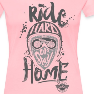 """Ride Hard"" - Women's Premium T-Shirt"