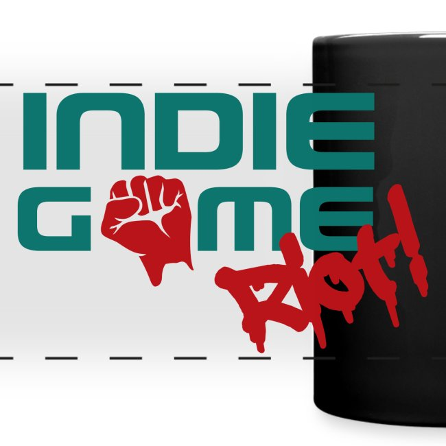 IGR Mug with Wrap-around logo