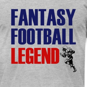 Fantasy Football Legend funny men's shirt - Men's T-Shirt by American Apparel