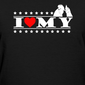 I Love My Chickens Shirt - Women's T-Shirt