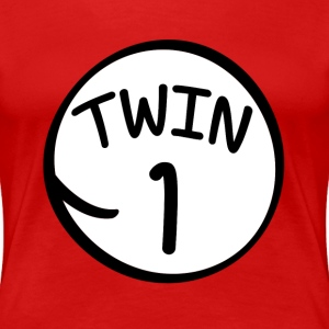 Twin 1 shirt - Women's Premium T-Shirt