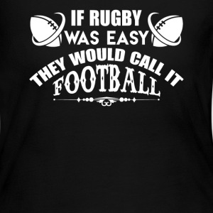 If Rugby Was Easy - Women's Long Sleeve Jersey T-Shirt