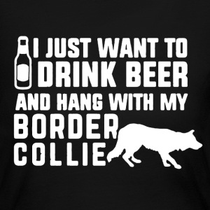 Border Collie Shirt - Women's Long Sleeve Jersey T-Shirt