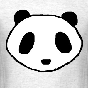 Panda Face Logo Shirt - Men - Men's T-Shirt