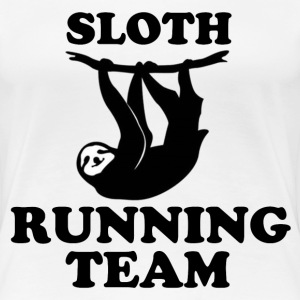 SLOTH RUNNING TEAM - Women's Premium T-Shirt