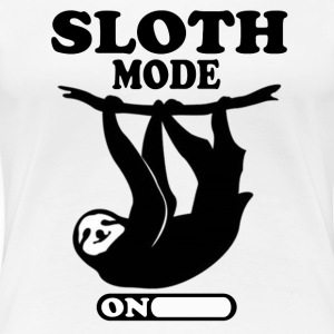 SLOTH MODE ON - Women's Premium T-Shirt