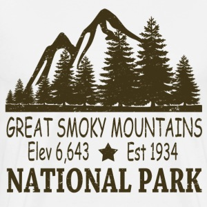 GREAT SMOKY MOUNTAIN NATIONAL PARK - Men's Premium T-Shirt