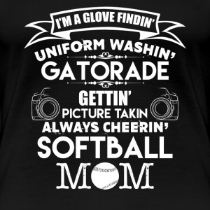 Softball Mom Shirts - Women's Premium T-Shirt