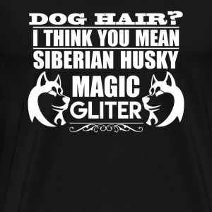 Dog Hair Siberian Husky - Men's Premium T-Shirt