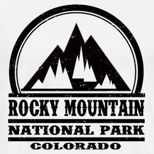 ROCKY MOUNTAIN NATIONAL PARK COLORADO - Men's Premium T-Shirt