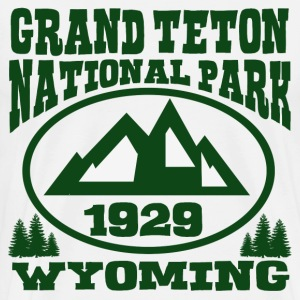 GRAND TETON NATIONAL PARK WYOMING - Men's Premium T-Shirt