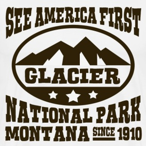 GLACIER NATIONAL PARK MONTANA - Men's Premium T-Shirt