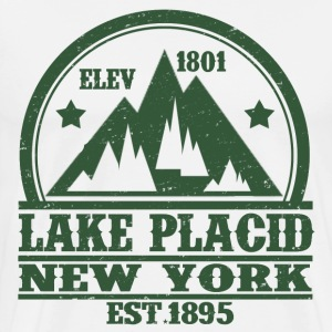 LAKE PLACID NEW YORK - Men's Premium T-Shirt