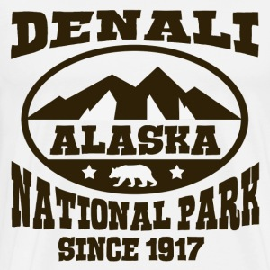 DENALI ALASKA NATIONAL PARK - Men's Premium T-Shirt