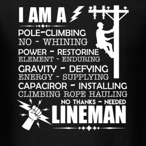 Badass Lineman Shirt - Men's T-Shirt