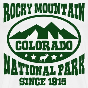 ROCKY MOUNTAIN COLORADO NATIONAL PARK - Men's Premium T-Shirt