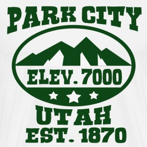PARK CITY UTAH - Men's Premium T-Shirt
