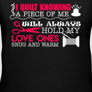 I Quilt Knowing - Women's V-Neck T-Shirt