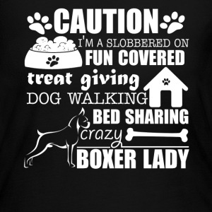 Crazy Boxer Lady Shirt - Women's Long Sleeve Jersey T-Shirt