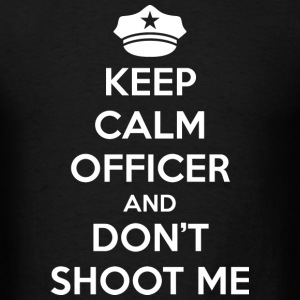 Keep Calm Officer - Men's T-Shirt