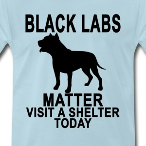 black_labs_matter_tshirt_ - Men's Premium T-Shirt