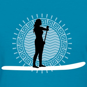 stand_up_paddling_062016b_3c T-Shirts - Women's T-Shirt