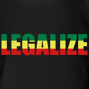 LEGALIZE Baby   - Short Sleeve Baby Bodysuit