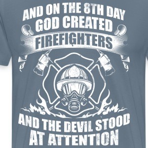 Firefighters Devil Fire - Men's Premium T-Shirt