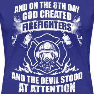 Firefighters Devil Fire - Women's Premium T-Shirt