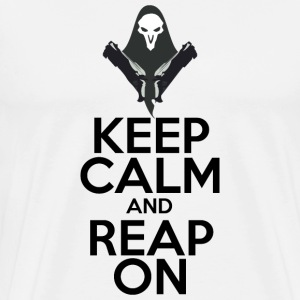 Keep Calm and Reap On - Men's Premium T-Shirt