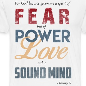 No Fear Here! - Men's Premium T-Shirt