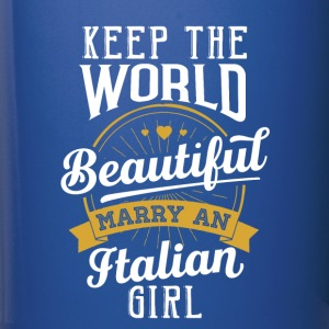 Marry an Italian Girl - Full Color Mug