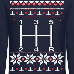 Gear Shifter Christmas Sweater! - Crewneck Sweatshirt
